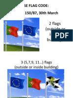 Portuguese Flag Code