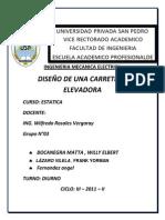 Proyecto de Carretilla Elevadora