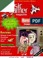 Classic Gamer Magazine Volume 2, Issue 1