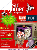 Classic Gamer Magazine Volume 2, Issue 1