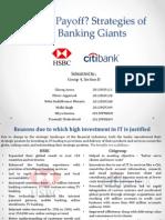 HSBC vs Citigroup