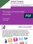 2 Impact of Social Media on Society