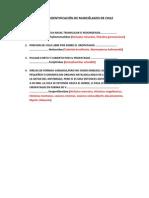 Clave de Identificacion de Murcielagos de Chile