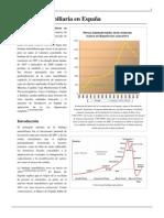 Burbuja inmobiliaria en España