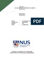 C1 NUS Lab Report