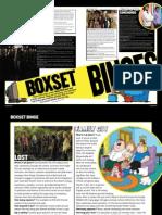 Boxset Binges, Charged magazine August 09