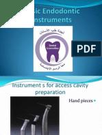 Summary of Instruments