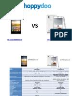 Comparador de Precios Moviles LG