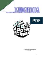 D)CONTENIDOS MÍNIMOS DESARROLLADOS DE METODOLOGÍA