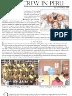 Foss Fall Newsletter 2009