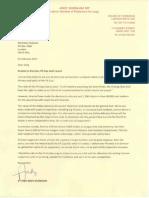 Andy Burnham letter to FA chief Greg Dyke