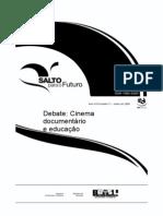CINEMA DOCUMENTÁRIO E EDUCAÇÃO