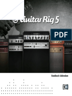 Guitar Rig 5 Manual Addendum German