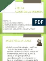 Ecuacion de La Conservacion de La Energia