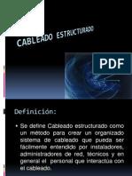 Redes Clase12 Cableado Estructurado