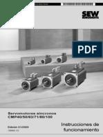 CMP Servomotores síncronos