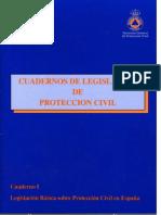 Cuadero de Legislacion de Proteccion Civil