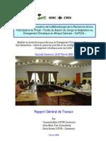 Recherche Action Participative (Rapport d'atelier)