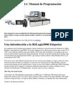 Allen Bradley PLC Manual de Programación
