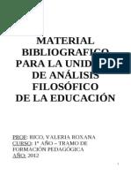 Material Bibliográfico Unidad 2 - Análisis Filosófico
