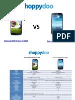 Comparador de Precios Samsung
