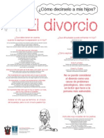 Cartel Divorcio