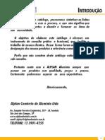 Catalogo Alplan Aluminio