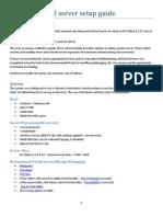 RF 2.2.3.2 Server Setup Guide