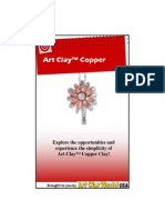 Art Clay Copper Booklet