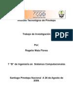 Programacion Web Unidad 1 by Roger