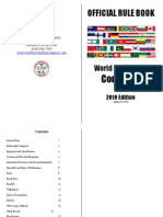 WPC Rule Book Official Website 2011