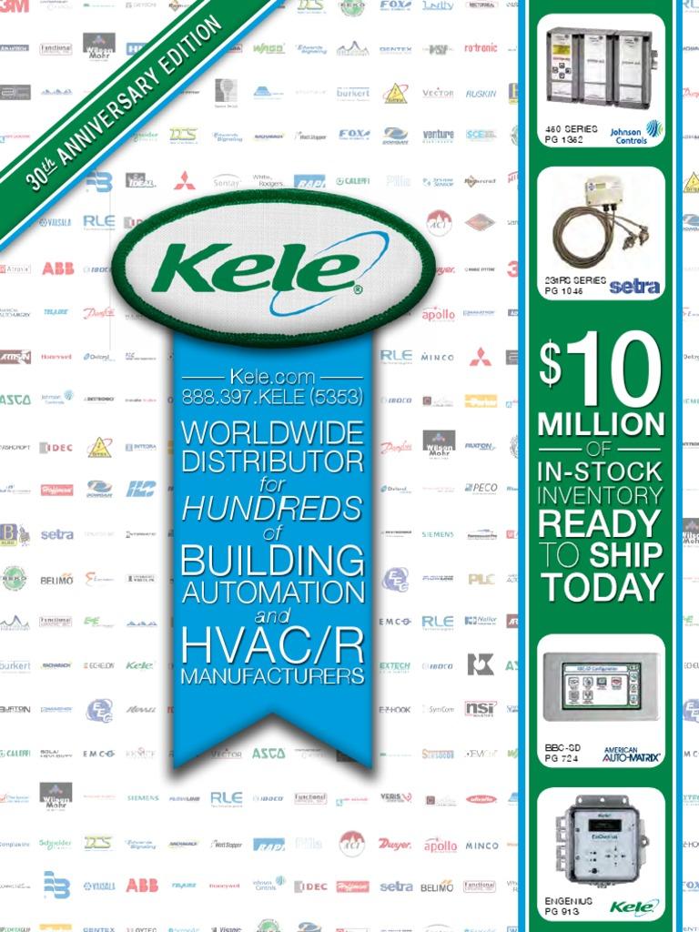 Kele Building Automation Catalog 2014-2015
