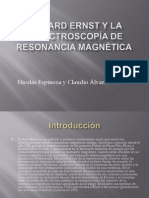 espectroscopía de resonancia magnética