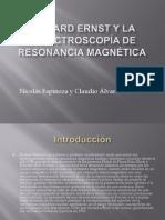espectroscopía de resonancia magnética