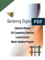 Gardening Organically
