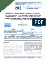 1_Escudero T. (2003) Revista Electronica de Investigación y Evaluación Educativa_Desde los Tests hasta la investigacion evaluativa actual pp. 11-43