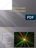 Lasers and Holograms