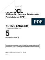 Ktsp Active English Sd 5