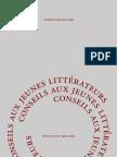 Baudelaire - Conseils aux jeunes littérateurs