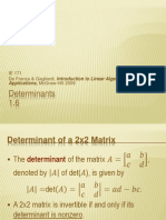 Determinants_Advanced Math