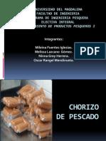 CHORIZO de PESCADO Diapositivas12 Abril