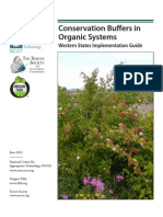 Conservation Buffers in Organic Farming