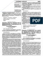 Reglamento Técnico para la Fortificación de la Sal para Consumo Humano con Yodo y Flúor - digesa