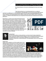 history and key practitioners of physical theatre - studen