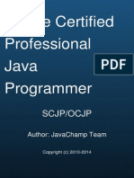 Oracle Certified Professional Java Programmer SCJP/OCJP  Mock Exams