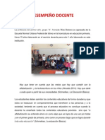 DESEMPEÑO DOCENTE 1