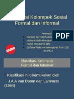 Kelompok Formal Dan Informal