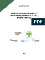 Kajian Kerentanan Kota Bandar Lampung