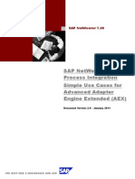 SAP NetWeaver Process Integration 7.3 - Simple Use Cases for Advanced Adapter Engine Extended (1)
