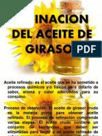 Refinacion Del Aceite de Girasol